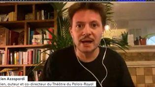 Sébastien Azzopardi (Capture d'écran Franceinfo)