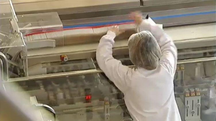 L'usine Servier de Gidy, dans le Loiret. (FRANCE 2 / FTVI)
