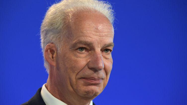 Le ministre délégué auxPME, Alain Griset, en juillet 2020. (ERIC PIERMONT / AFP)