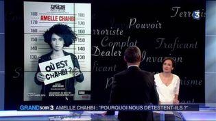 L'affiche du spectacle d'Amelle Chahbi (FRANCE 3)
