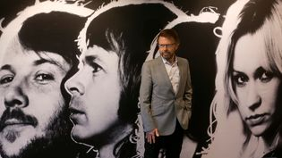 Björn Ulvaeus, l'un des membres du groupe suédois Abba,à Stockholm, le 6 mai 2013. (ARND WIEGMANN / REUTERS)