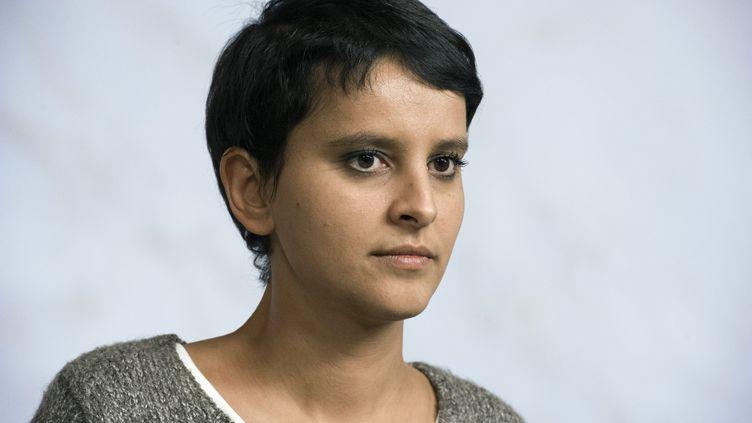 Najat Vallaud-Belkacem, le 9 novembre 2012. (BERTIL ERICSON / SCANPIX-SWEDEN / AFP)
