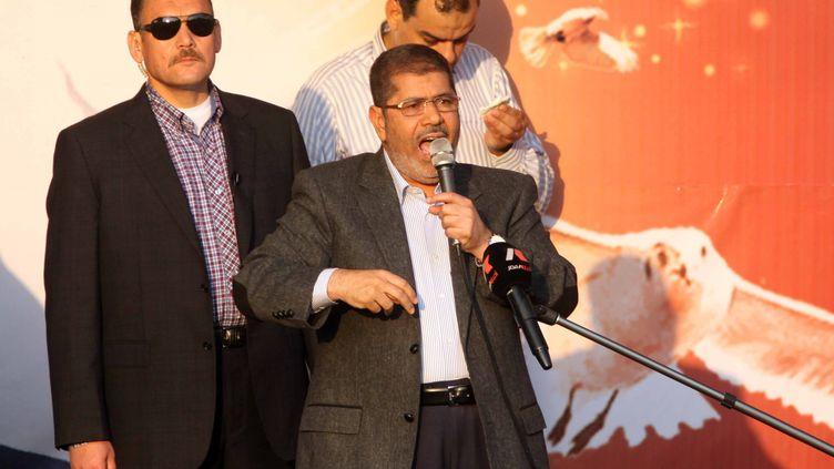 Le président égyptien,Mohammed Morsi, le 23 novembre 2012. ( AFP )