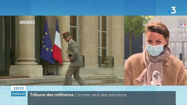 Tribune des militaires : le chef de l'État-major des armées veut des sanctions