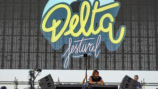 Le Delta Festival sur la plages du Prado à Marseille, le 7 juillet 2019. (TOMASELLI ANTOINE / MAXPPP)