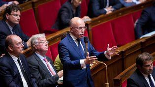 Le député Les républicains Éric Ciotti, le 12 octobre 2016 à l'Assemblée nationale (CHRISTOPHE MORIN / MAXPPP)