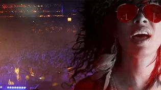"Samaha Sam de Shaka Ponk dans le clip ""Heal Me Kill Me"".  (Saisie écran)"
