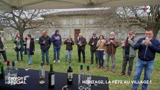 Envoyé spécial. Héritage, la fête au village ! (ENVOYÉ SPÉCIAL  / FRANCE 2)