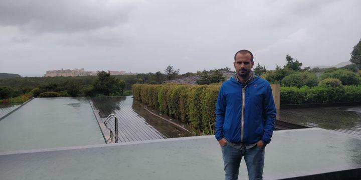 Jean Olivieri, à Bonifacio. (ERIC AUDRA / RADIO FRANCE)