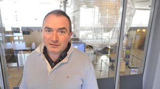 L'ancien directeur de l'aéroport de Limoges (Haute-Vienne), Philippe Gaillard, le 9 novembre 2011. (BRUNO BARLIER/POPULAIRE DU CENTRE/MAXPPP)