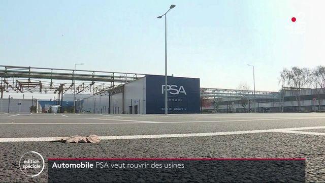 Coronavirus: vers la réouverture d'une usine PSA malgré le confinement