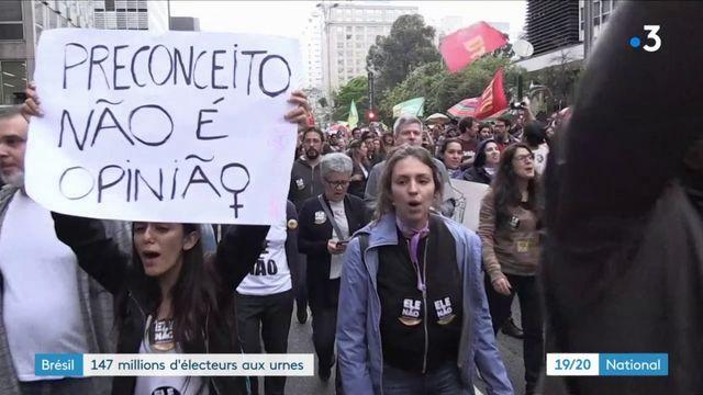 Brésil 147 millions d'électeurs aux urnes