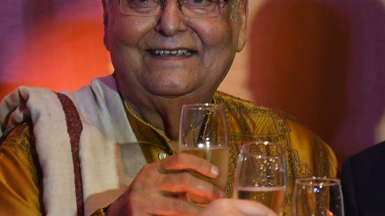 """L'acteur, """"géant"""" du cinéma en Inde et à l'international, est décédé le 15 novembre à l'âge de 85 ans. (DIBYANGSHU SARKAR / AFP)"""