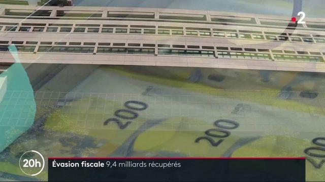 Évasions fiscales : 9,4 milliards d'euros récupérés par l'État