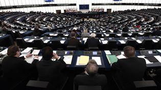 Le Parlement européen à Strasbourg (Bas-Rhin), le 25 novembre 2015.. (FREDERICK FLORIN / AFP)
