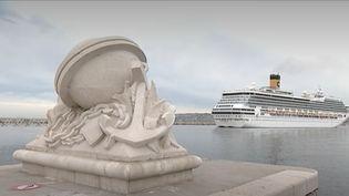 180 passagers français du Costa Magica ont décidé de porter plainte contre la compagnie pour homicide involontaire. Le navire français s'était vu refouler de plusieurs ports en raison du Covid-19 : six personnes contaminées étaient décédées.  (France 3)