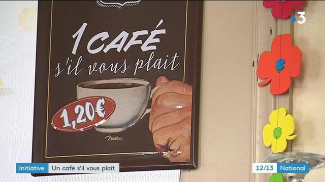 Initiative : un café s'il vous plait