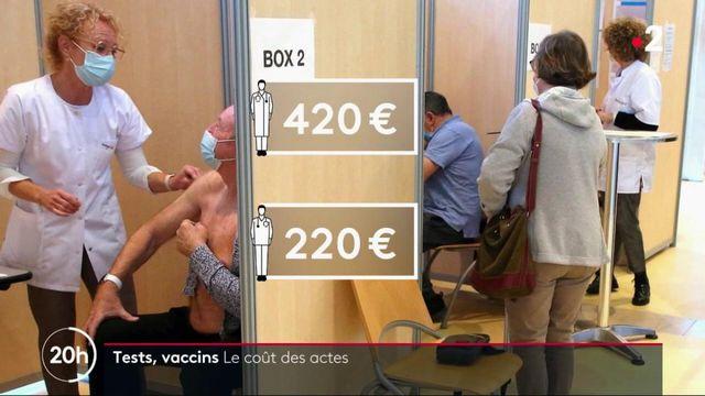 Tests, vaccins, masques : combien coûte le Covid-19 à l'Assurance maladie ?