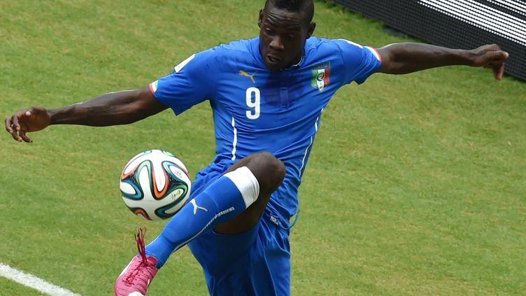 L'attaquant italien Mario Balotelli (YASUYOSHI CHIBA / AFP)