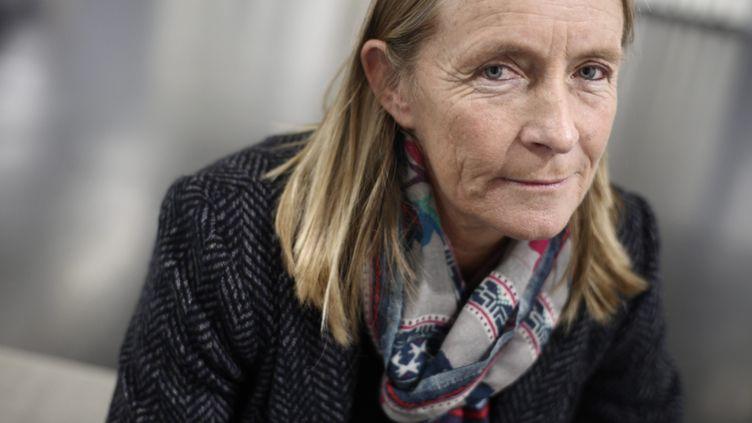 Isabelle Demongeot, à Nice, en 2014. (FRANCK FERNANDES / MAXPPP)