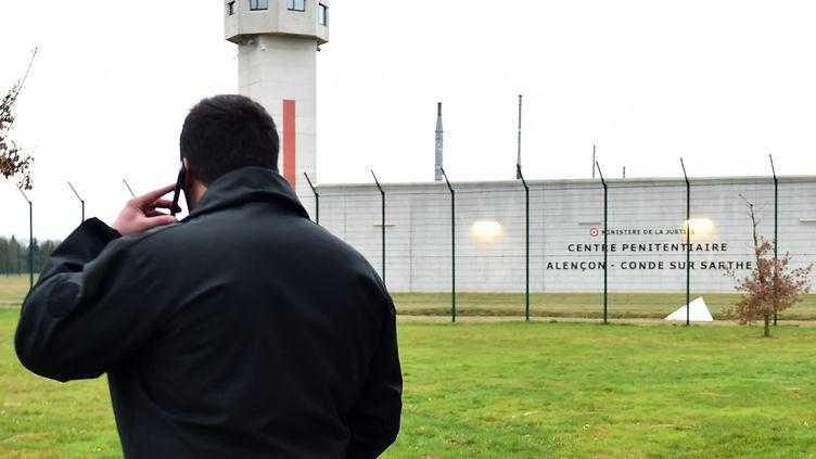 La prison de Condé-sur-Sarthe (Orne), le 6 mars 2019. (JEAN-FRANCOIS MONIER / AFP)