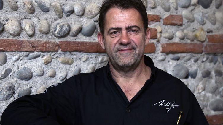 Michel Sarran, le 11 juilllet 2016, dans son restaurant de Toulouse.  (PASCAL PAVANI / AFP)