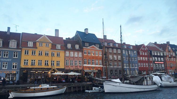 Vue de Copenhague (Danemark). (Léa Bourdillat)