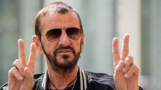 Ringo Starr à Londres le 14 septembre 2017.  (Chris J Ratcliffe / AFP)