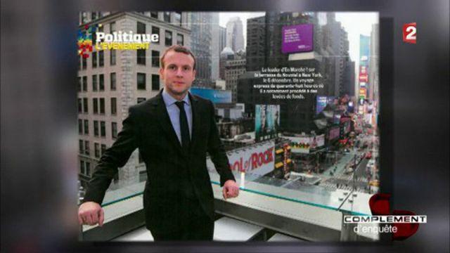 Emmanuel Macron, un roi de la com' à New York