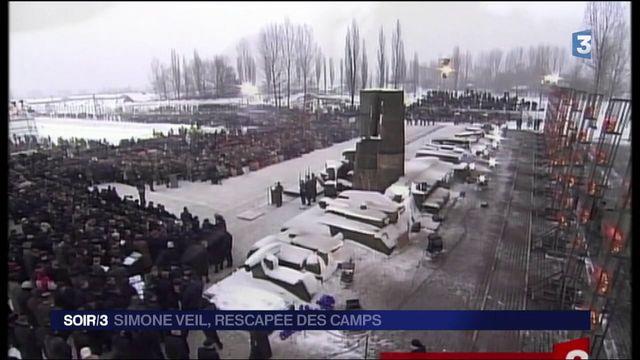Simone Veil : rescapée des camps