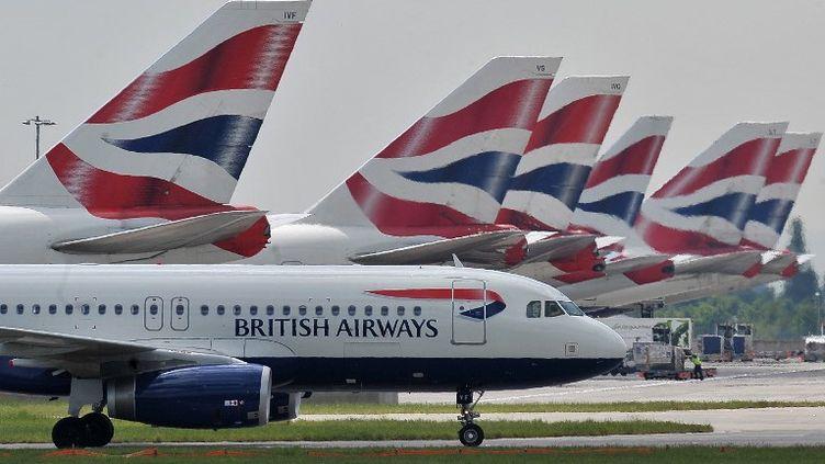 380 000 clients de la compagnie British Airways se sont faits voler les données bancaires. (CARL DE SOUZA / AFP)