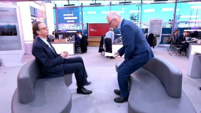 """Le président d'Initiative France, Louis Schweitzer était l'invité de Jean-Paul Chapel mercredi 22 novembre dans l'émission """":L'éco"""" pour évoquer l'importance des parrainages dans l'entreprise."""