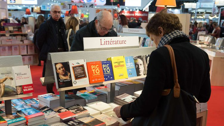 Au Salon Livre Paris 2017 (24 mars 2017)  (Witt / Sipa)