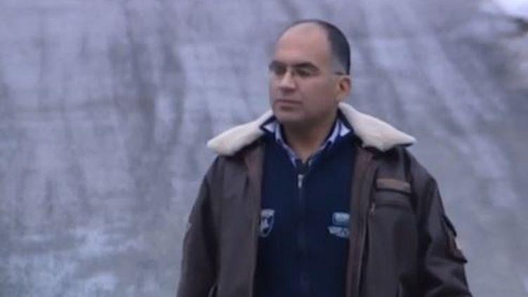 Captuer d'écran - Bilal, réfugié syrien filmé dans le camp de réfugiés de Flen en Suède, janvier 2014 ( FRANCE 3 / FRANCETV INFO)