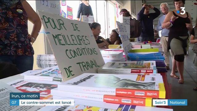 Pyrénées-Atlantiques : le contre-sommet du G7 a débuté à Irun