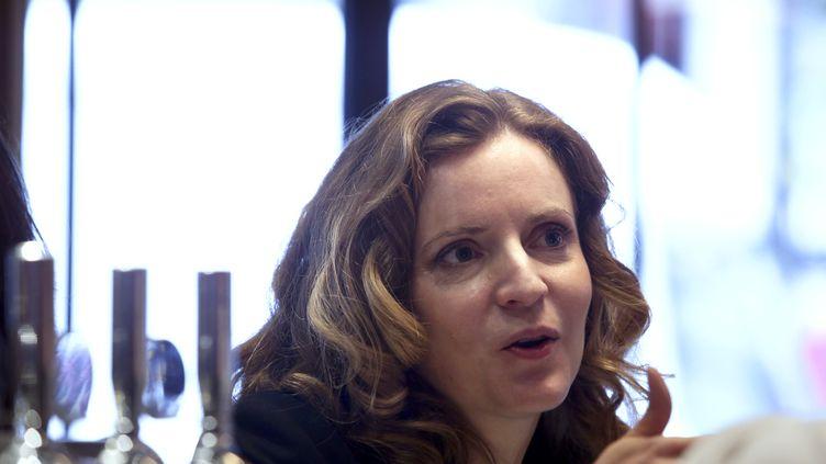 La candidate UMP à la mairie de Paris, Nathalie Kosciusko-Morizet, le 21 novembre 2013, à Paris. (MARION RUSZNIEWSKI / AFP)