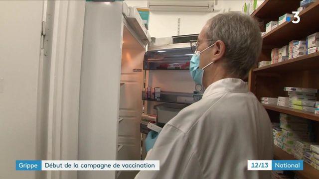 Grippe : la campagne de vaccination démarre