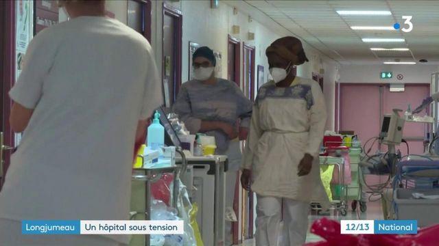 Covid-19 : l'hôpital de Longjumeau est sous tension
