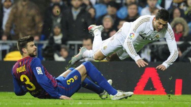 Cristiano Ronaldo face à Zanetti