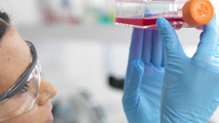 La dose employée pour soigner cette patiente aurait pu être utilisée pour vacciner 10 millions de personnes. (RAFE SWAN / CULTURA CREATIVE / AFP)