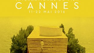 L'affiche du 69e festival de Cannes, dévoilée le 21 mars 2016. (AFP)