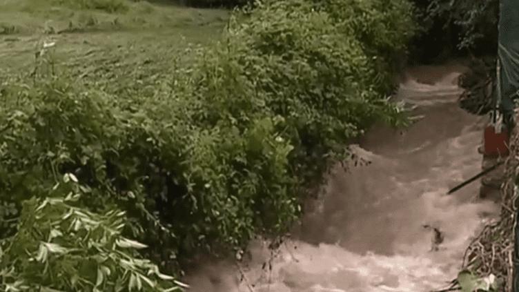 Inondation à Montrem (Dordogne), le 11 juin 2018 (France 2)