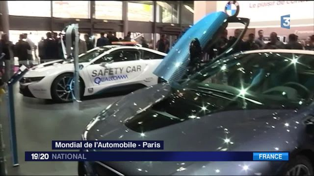 Mondial de l'Automobile: les Français achètent encore du Diesel