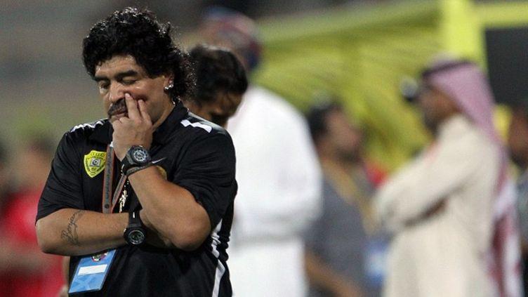 La grinta de Maradona