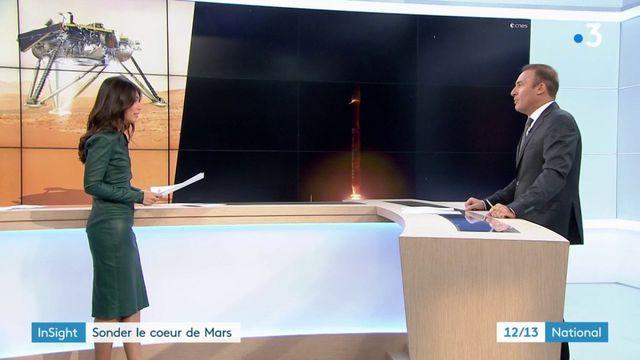 Sciences : la sonde InSight s'est posée sur Mars avec succès