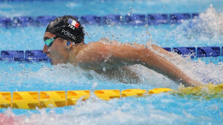 Alex Portal lors des Jeux paralympiques de Tokyo. (G Picout Cpsf)