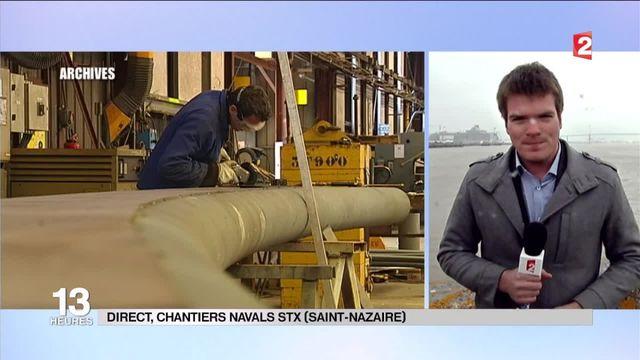"""Saint-Nazaire : """"37 millions d'heures de travail"""""""