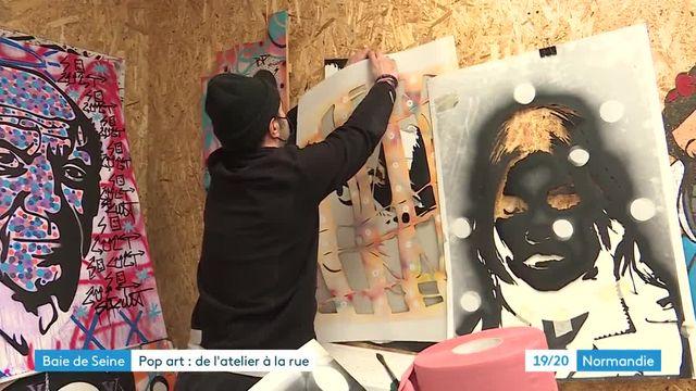 Au Havre, l'artiste David Karsenty détourne avec brio les visages de personnages célèbres