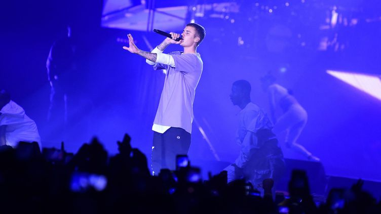 Justin Bieber à Bercy le 20 septembre 2016  (Anthony Ghnassia / SIPA)