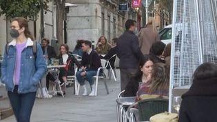 Madrid. (Capture d'écran franceinfo)